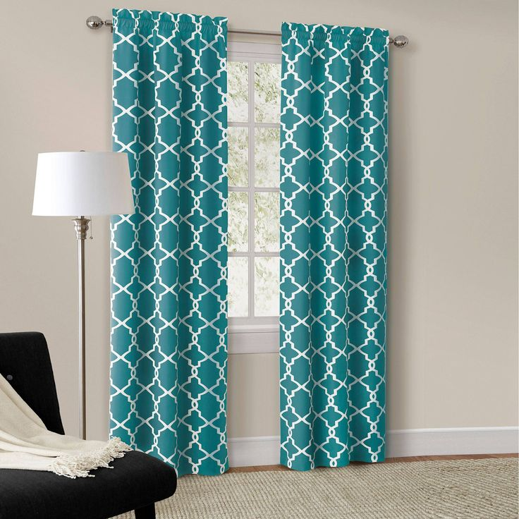 Best 25+ Turquoise curtains ideas on Pinterest | Teal ...