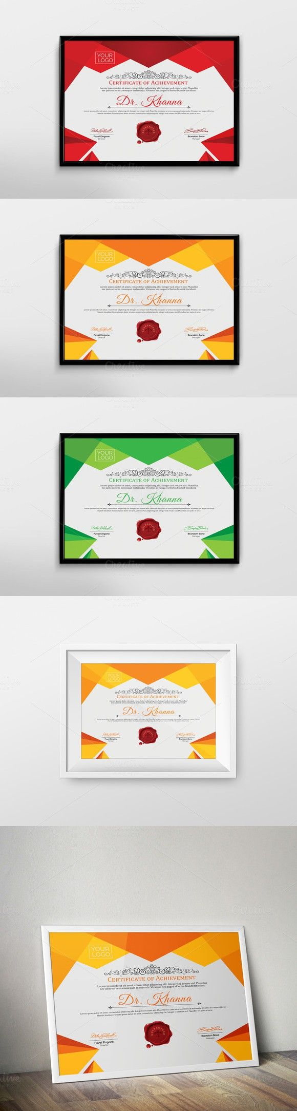 Best 25 certificate layout ideas on pinterest certificate certificate template xflitez Images