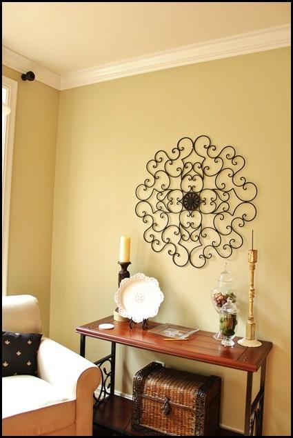 Sherwin Williams Ramie (neutral light khaki - used in family room)