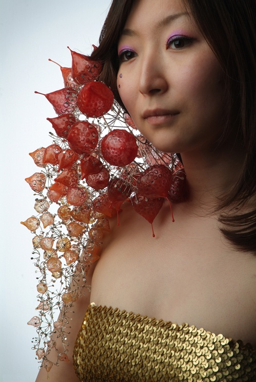 Katharina Vones 'Earconch' from Siliconia Collection; Ear Ornament 2006