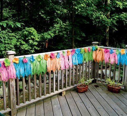 Luau Party Ideas - Hawaiian Luau Birthday Party Theme