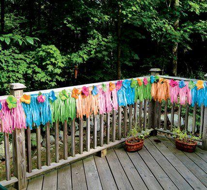 Luau Party Ideas - Hawaiian Luau Birthday Party Theme