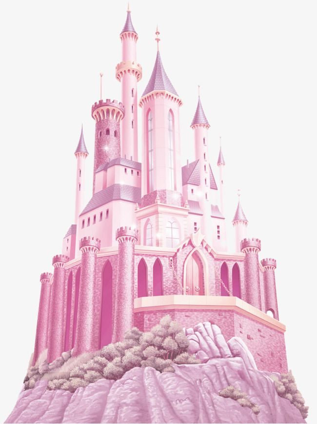 Pink Castle Disney Princess Castle Disney Castle Logo Pink Castle