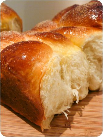Brioche lait d'amande et orange
