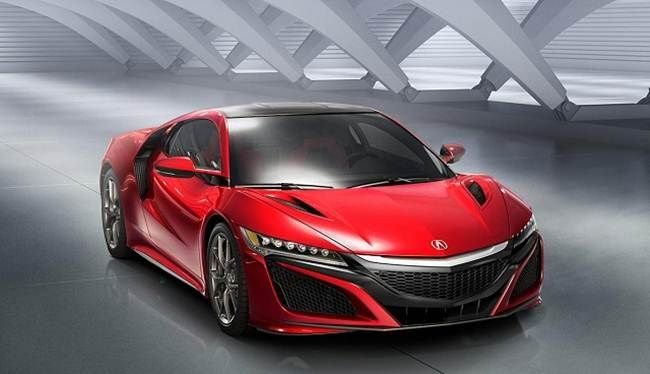 2017 Acura NSX Type-R Electric Cars