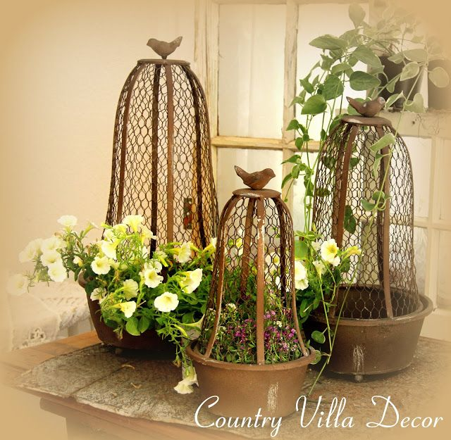 French Country Cottage Feature: 102 Best Images About Birdcage Decor On Pinterest