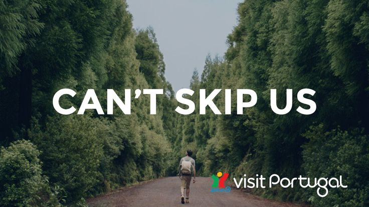 Can't skip Us, Can't Skip Portugal | Life passes us by, time slips through our fingers. Decide your next stop, pick your next destination. Can't skip life. Can't skip us. Can't skip Portugal. | https://www.visitportugal.com/en/content/cantskipportugal?utm_campaign=tdp&utm_source=youtube&utm_medium=video | http://www.cantskipportugal.com/en