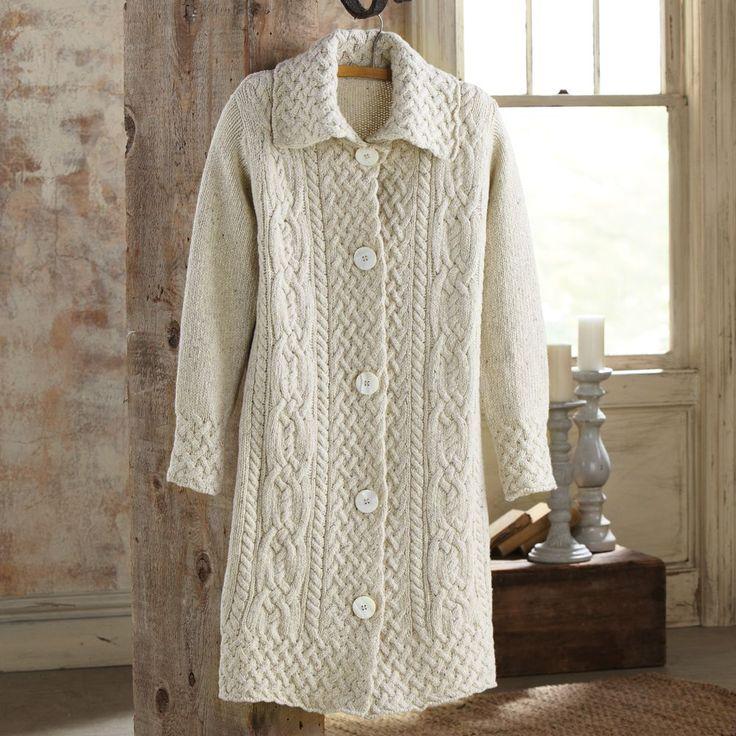 Aran Sweater Coat