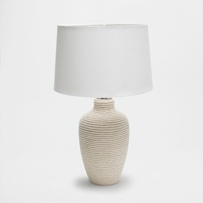 Vyobrazení 1 produktu Lampa na podstavci s provazovým vzhledem