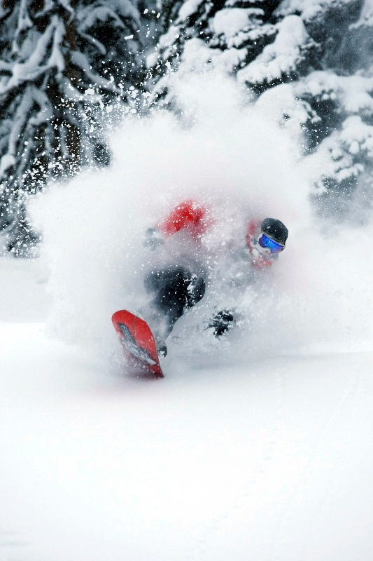 More face shots in deep powder. Patagonia ambassador Josh Dirksen, Valhalla Mountain Touring, BC, Canada. Photo: Adam Clark
