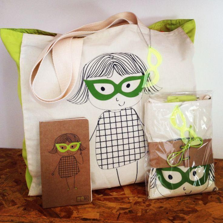 """#bag #Bolsa """"NInãs"""". Cor Verde"""