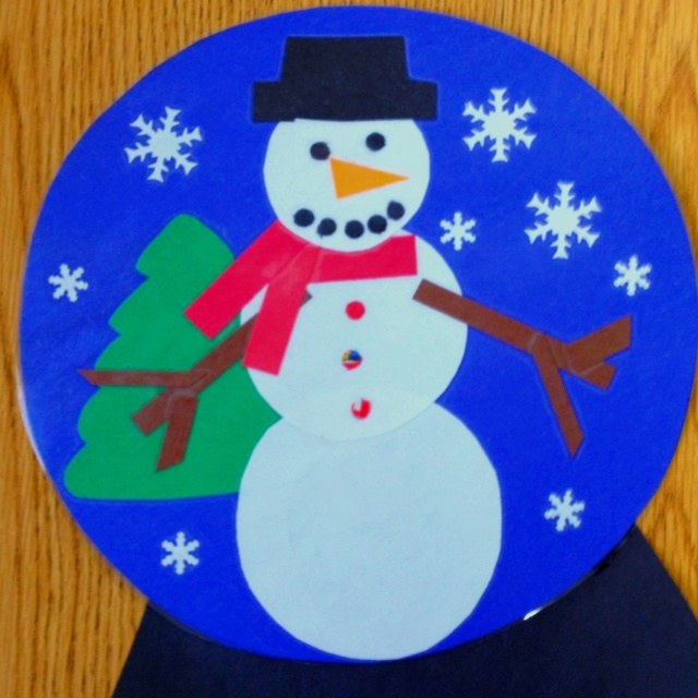 62 best images about w is for letter of the week on for Preschool snow globe craft