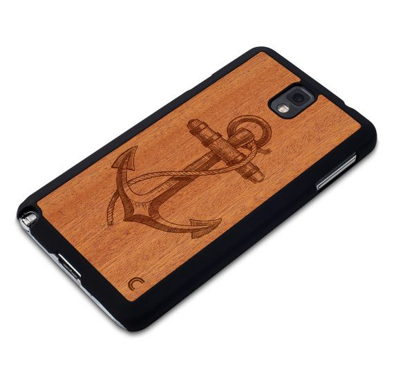 Samsung Galaxy Note 3 Case Anchor / Galaxy Note 3 Wood Case