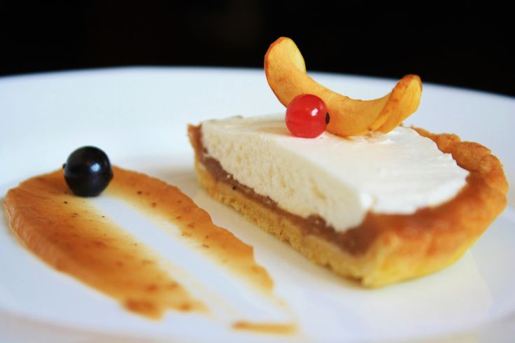 Tarta cu Unt de Mere si Crema de Mascarpone/ Apple Butter and Mascarpone Tart