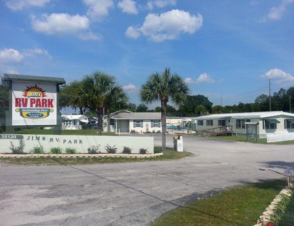 Zephyr Palms RV Park In Zephyrhills Florida United States