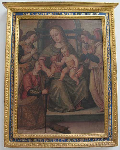 Suor Plautilla de' Nelli (attr.), Sposalizio mistico di Santa Caterina