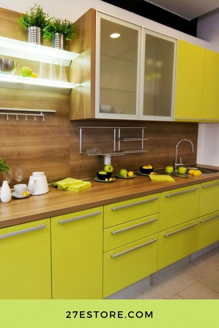 High Gloss Color Lacquered Cabinet Doors 213 Colors Available Give Your Kitchen A Colorful Makeover With 27estore 27estore Homedecor Kitchen Bodegas