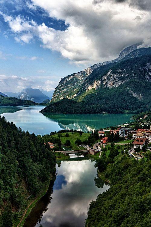 Lago di Molveno (German: Malfeinsee) is a lake in Trentino-Alto Adige/Südtirol region of Northern Italy