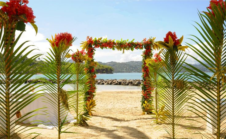 Tropical Wedding - St. Lucia