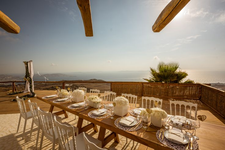 #centerpiece #wedding | M&A Mykonos Weddings | www.mamykonosweddings.com