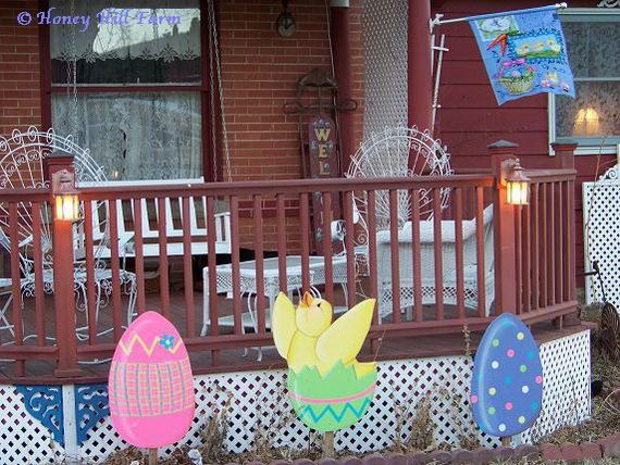 19 Best Images About Outdoor Easter Decor On Pinterest Chocolate Easter Bunny Portal And