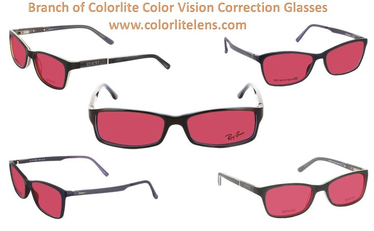 59 best Colorlite Color Vision Correction Glasses images on Pinterest
