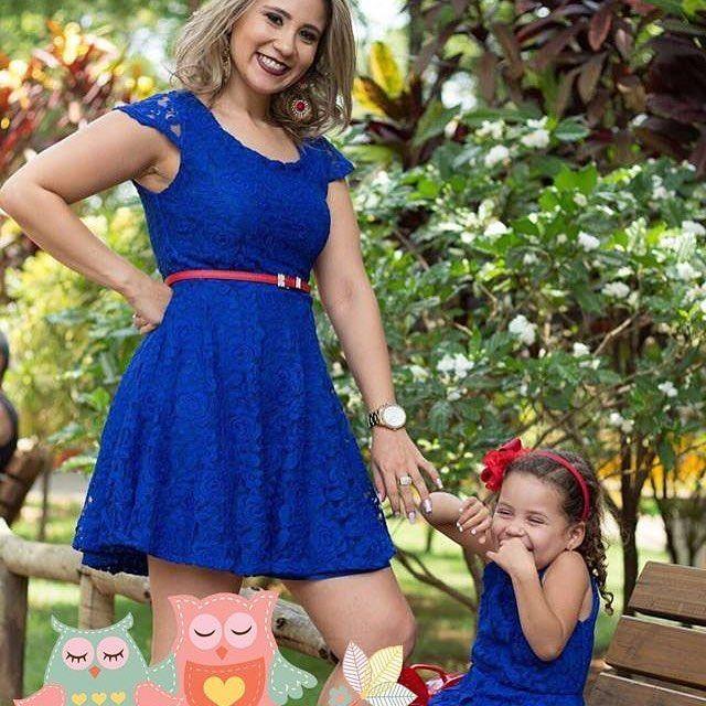 Esse look tal mãe tal filha para o tema Show da Luna está sensacional By @mae_club  Marque uma mamãe que esteja pensando nesse tema. by entrenafesta