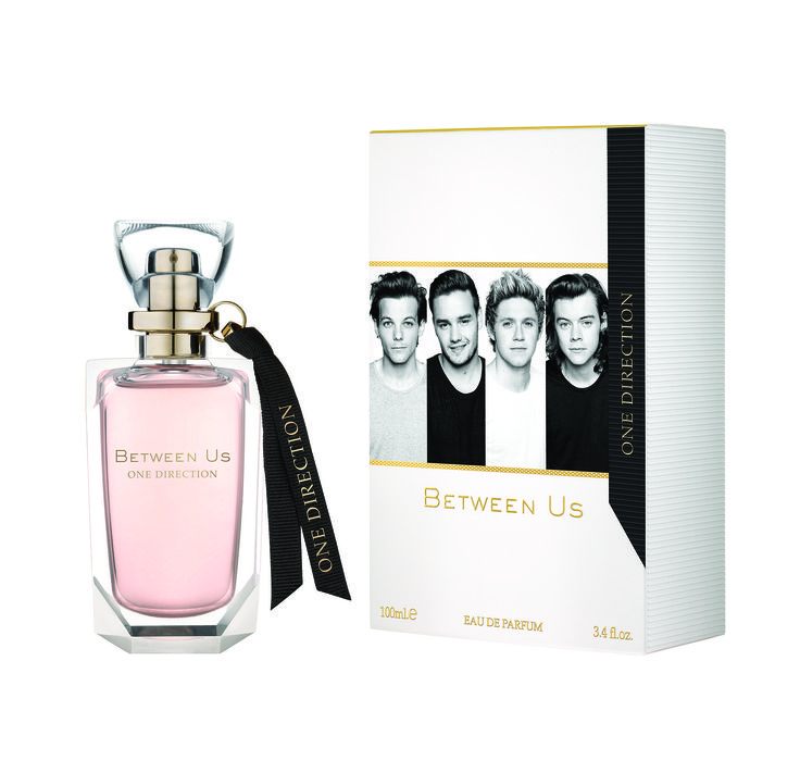 Between Us Perfume by One Direction with organic apricot, how cool is that?
