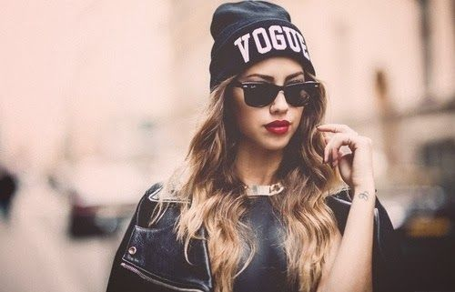 How to Chic: VOGUE BEANIE