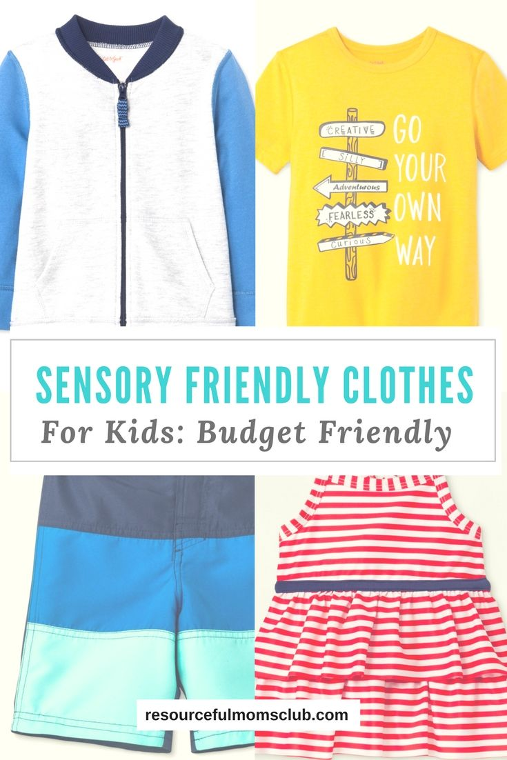 Affordable Clothing For Kids With Sensory Issues Autism Clothing Affordable Clothes Sensory Issues