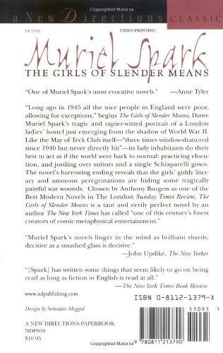 The Girls of Slender Means (New Directions Classic)
