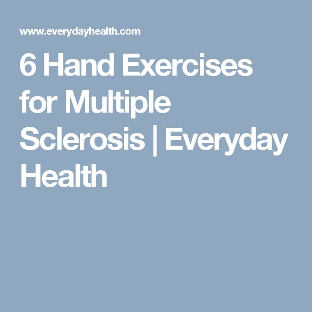6 Hand Exercises for Multiple Sclerosis | Everyday Health