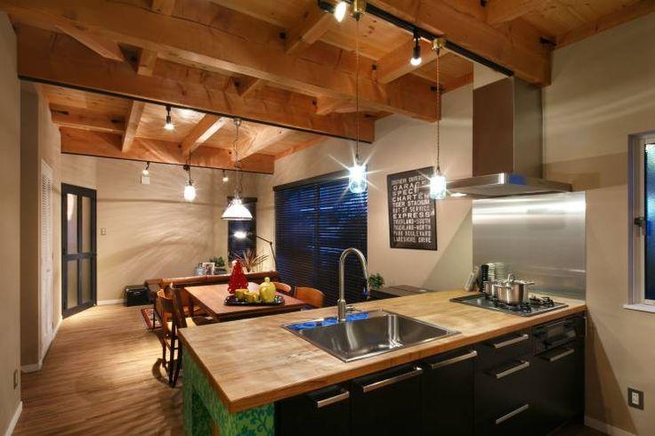 I's HOUSE: dwarfが手掛けたクラシックキッチンです。