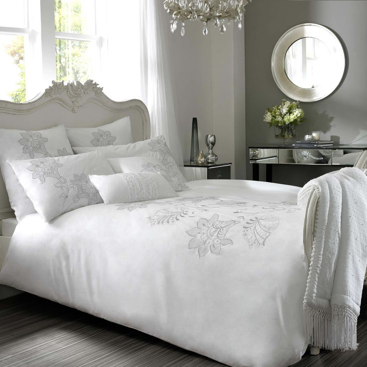 white bedding set u2013 next day delivery kylie audrey white