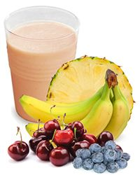 Smoothy recipe.  (Protein Blend Powder O-Right 4 Your Type)