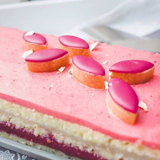 I returned from Paris inspired to recreate some form of French patisserie without any formal training. After paging through Will Torrents,