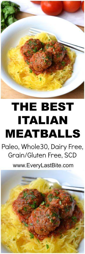 The Best Italian Meatballs