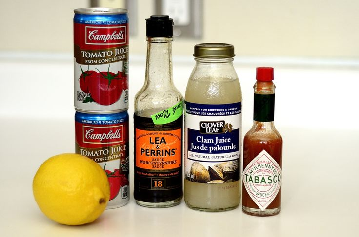 Homemade Clamato Juice Recipe and a Caesar