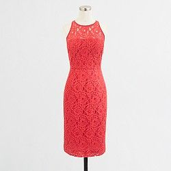 Factory lace sleeveless dress