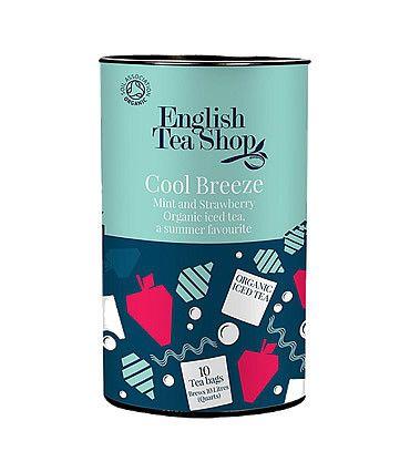 English Tea Shop - Ice Tea Cool Breeze 10 quart Tea Bags 80g  BIO