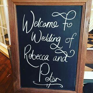 Wedding Chalkboard  http://www.sebelhuntervalley.com.au/weddings  Hunter Valley Weddings