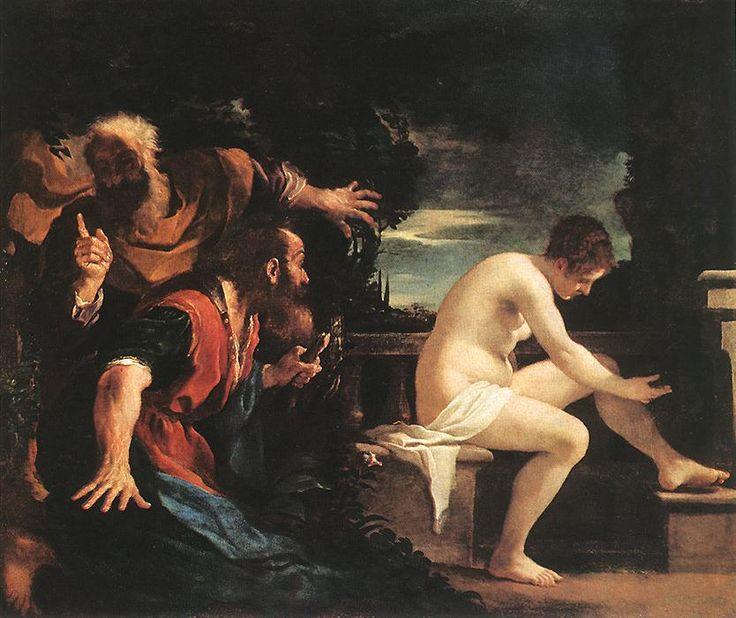 guercino, Zuzanna i starcy, 1591-1666