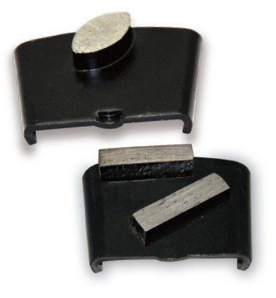 3 pieces/lot Metal Diamond Concrete Grinding Pad Scraper metal bond diamond cutting blade for concrete grinder  grit 30 60 120
