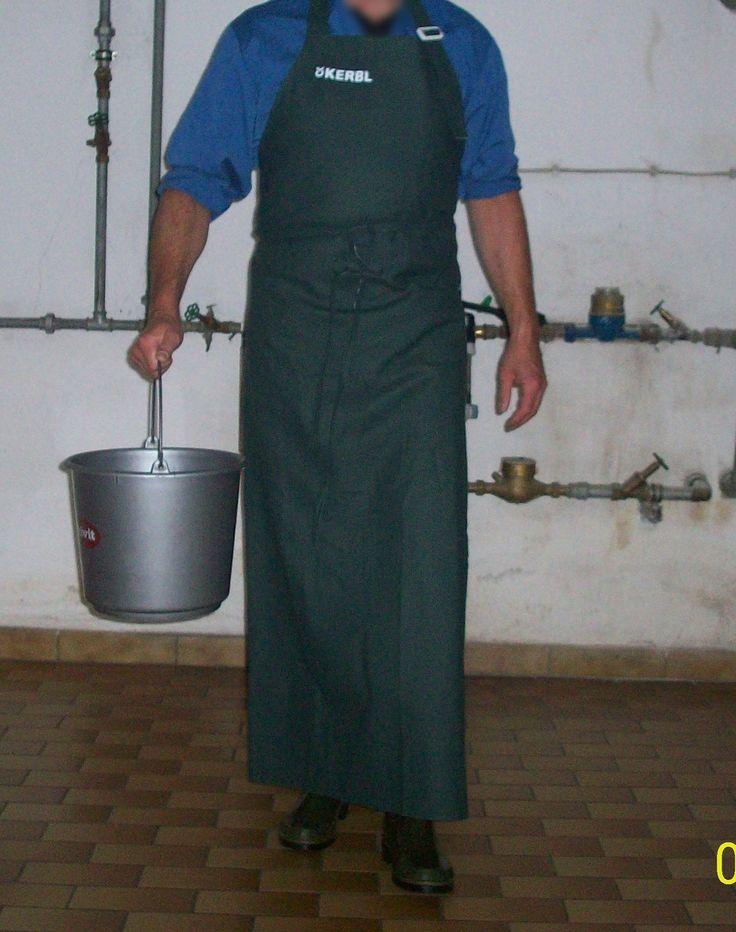 https://flic.kr/p/JjDXjj | Melkschürze und Arbeitskittel | Milking Apron