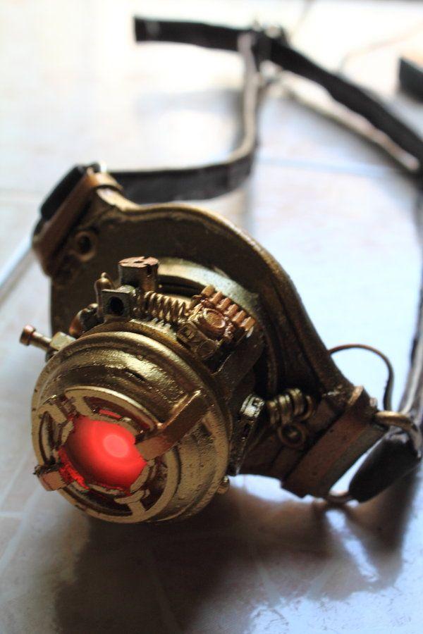Steampunk Eye Patch (Craft) by chiaku
