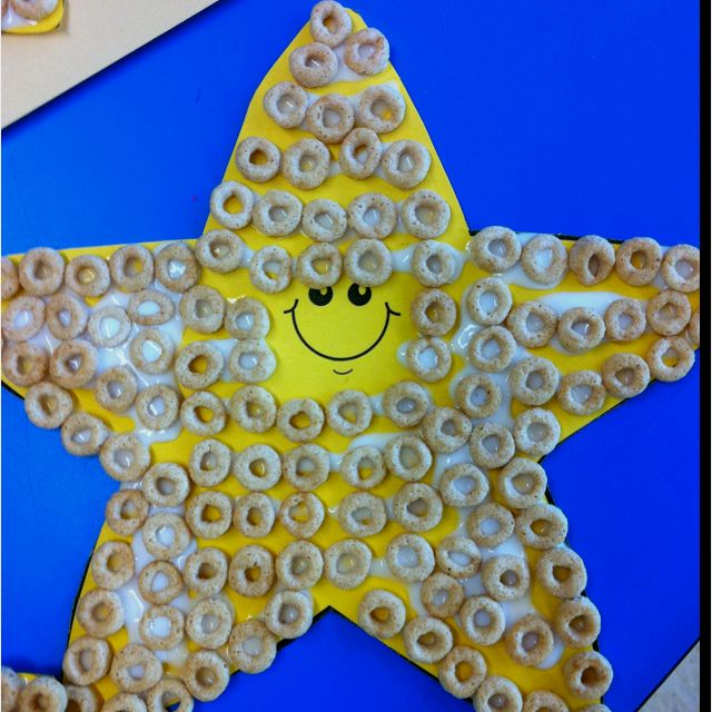 Cereal starfish-ocean/underwater world unit