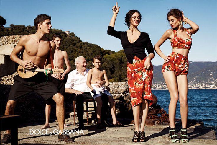 Bianca Balti  Monica Bellucci for Dolce  Gabbana Spring 2012 Campaign by Giampaolo Sgura
