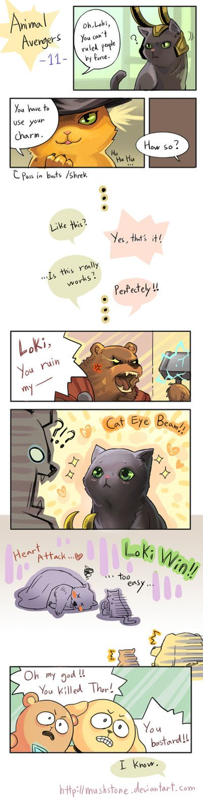 Animal Avengers 11 by Mushstone on deviantART