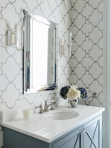 126 Best Wallpaper Images On Pinterest Master Bathroom