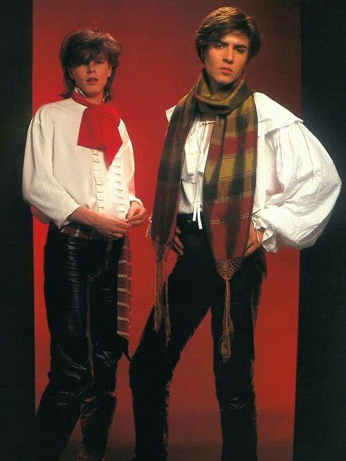Duran Duran (John Taylor & Simon Le Bon) 1981